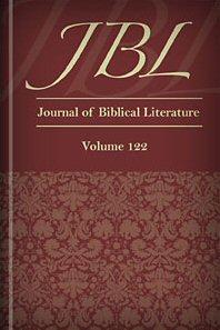 The Journal of Biblical Literature, vol. 122