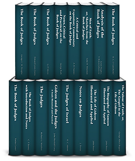 Classic Commentaries and Studies on Judges (16 vols.)