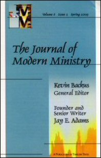 Journal of Modern Ministry, Vol. 6 Issue 2 Spring 2009