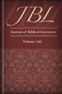 The Journal of Biblical Literature, vol. 109