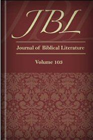 The Journal of Biblical Literature, vol. 103