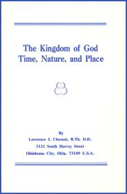 The Kingdom of God: Time, Nature and Place