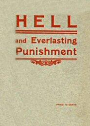 Hell and Everlasting Punishment