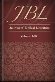 The Journal of Biblical Literature, vol. 100