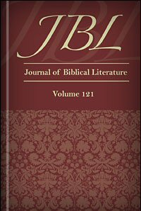 The Journal of Biblical Literature, vol. 121