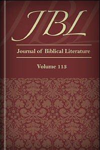 The Journal of Biblical Literature, vol. 113