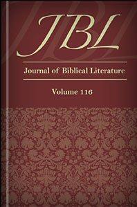 The Journal of Biblical Literature, vol. 116