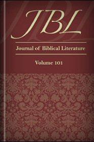 The Journal of Biblical Literature, vol. 101