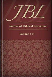 The Journal of Biblical Literature, vol. 111