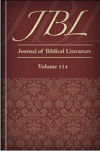 The Journal of Biblical Literature, vol. 114