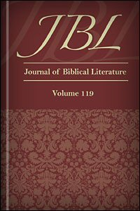 The Journal of Biblical Literature, vol. 119