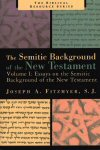 The Semitic Background of the New Testament, Volume 1