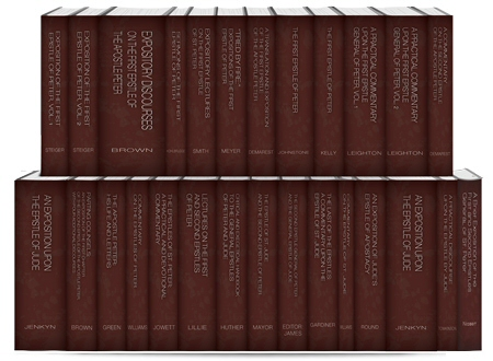 Classic Commentaries and Studies on the Epistles of Peter and Jude (26 vols.)