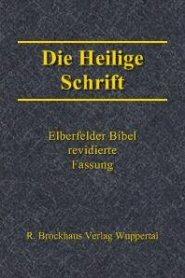 Die Bibel: Elberfelder Übersetzung (revidierte Fassung 1985) (REB)
