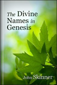 The Divine Names in Genesis