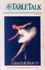 Tabletalk Magazine, September 1989: Grace & Beauty