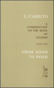 A Commentary on the Book of Genesis, Part 1: From Adam to Noah