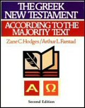 The Greek New Testament According to the Majority Text, with Apparatus