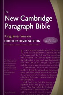 The New Cambridge Paragraph Bible with the Apocrypha, rev. ed. (NCPB)