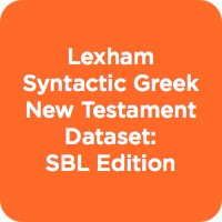 The Lexham Syntactic Greek New Testament and Dataset: SBL Edition