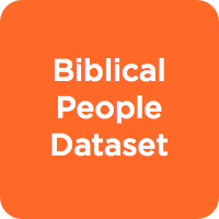 Biblical People Dataset
