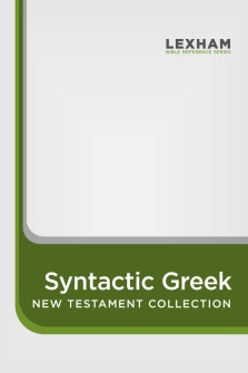The Lexham Syntactic Greek New Testament Glossary