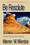 Be Resolute (Daniel)