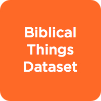 Biblical Things Dataset