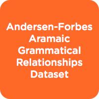 Andersen-Forbes Aramaic Grammatical Relationships