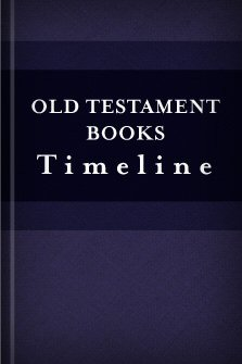 Old Testament Books Timeline