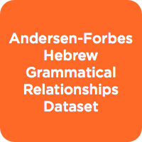 Andersen-Forbes Hebrew Grammatical Relationships