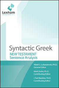 The Lexham Syntactic Greek New Testament, SBL Edition: Sentence Analysis