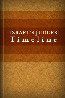 Israel's Judges Timeline