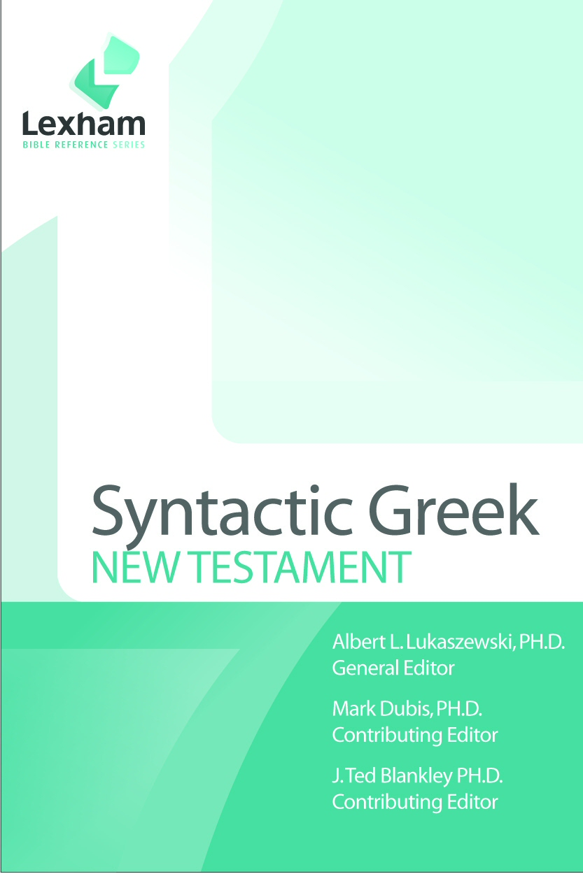 Lexham Syntactic Greek New Testament and Dataset