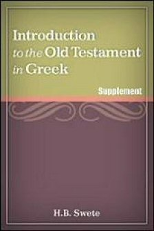 An Introduction to the Old Testament in Greek: Letter of Aristeas in Greek