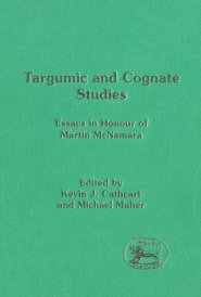 Targumic and Cognate Studies