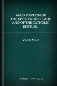 An Exposition of the Epistles of St. Paul and of the Catholic Epistles, vol. 2