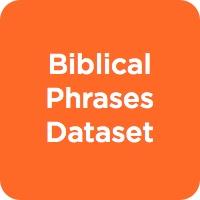 Biblical Phrases Dataset