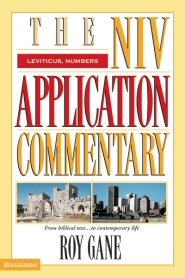 NIV Application Commentary: Leviticus, Numbers
