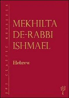 Mekhilta de-Rabbi Ishmael (Hebrew)