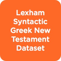 The Lexham Syntactic Greek New Testament Dataset