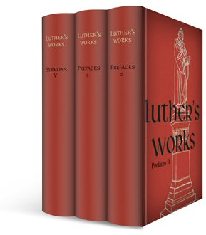 Luther's Works Upgrade (vols. 58–60) (3 vols.)