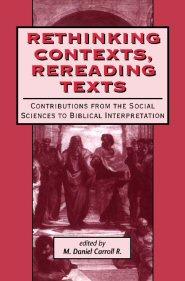 Rethinking Contexts, Rereading Texts