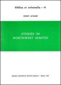 Studies in Northwest Semitic