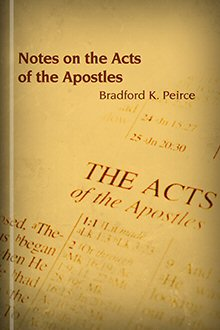 Notes on the Acts of the Apostles