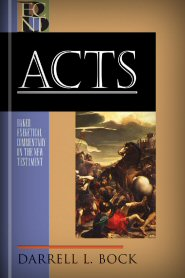 Darrell L. Bock, Baker Exegetical Commentary on the New Testament (BECNT), Baker, 2007, 880 pp.