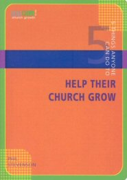 5 Things Anyone Can Do to Help Their Church Grow