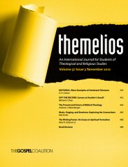 Themelios: vol. 37, no. 3, November 2012