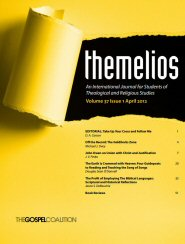 Themelios: vol. 37, no. 1, April 2012