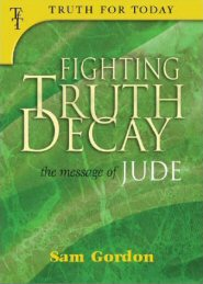 Fighting Truth Decay: The Message of Jude
